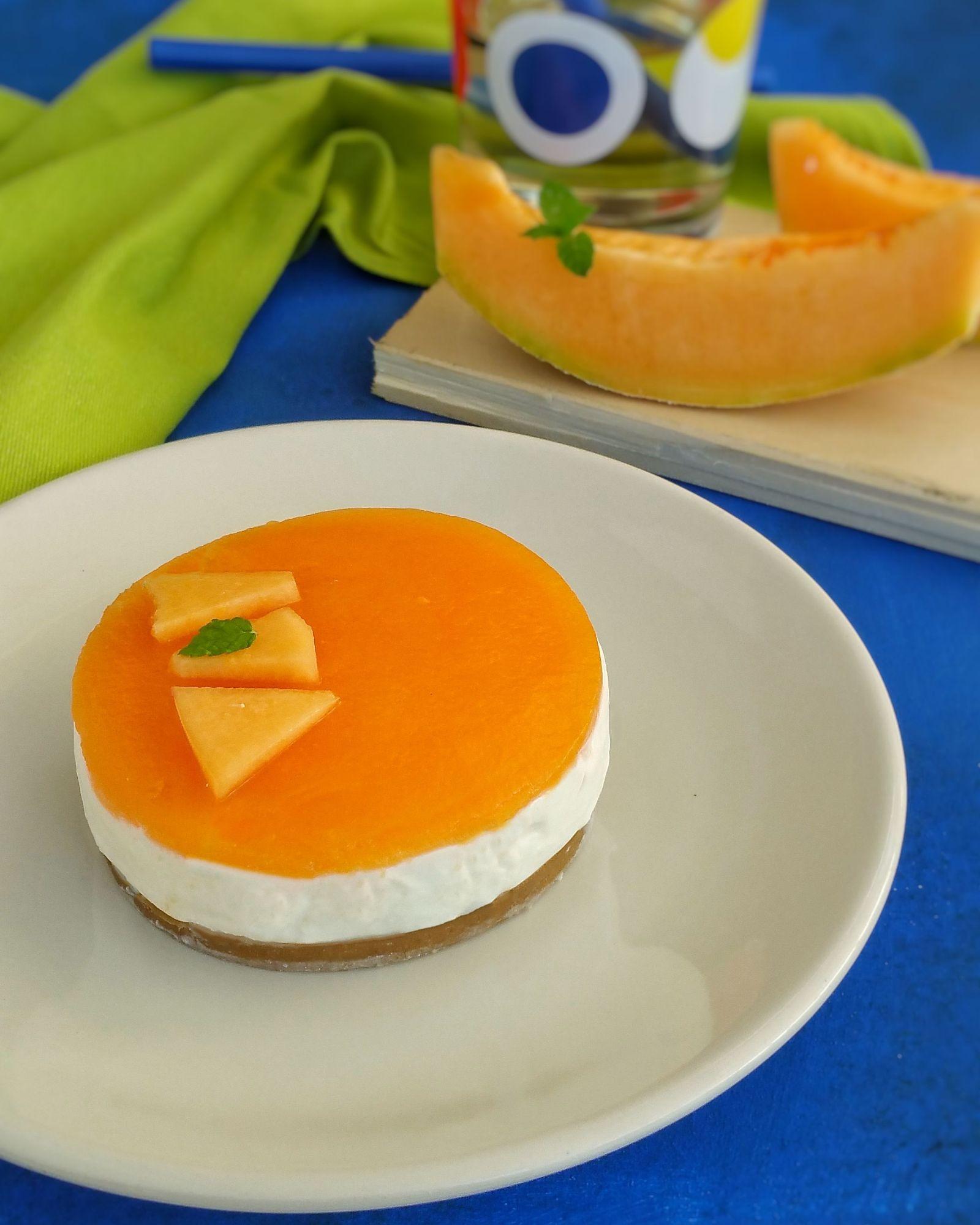Cheescake al melone